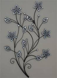 zspmed of metal flower wall art cool about remodel small