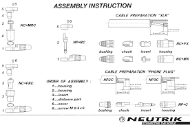 neutrik audio connectors exploded parts wiring diagram data neutrik connectors assembly