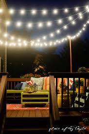 String Lights Deck