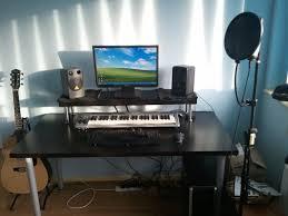best est home studio desk ever ikea hackers ikea hackers with studio desk setup