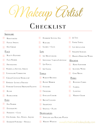 makeup artist kit checklist fortheloveofmakeupbaby