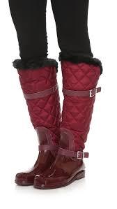 MICHAEL Michael Kors Fulton Quilted Rain Boots | SHOPBOP &  Adamdwight.com