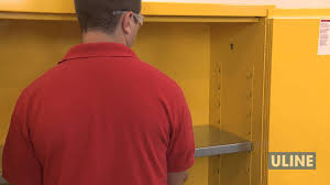 Yellow Flammable Cabinet Flammable Storage Cabinets Youtube