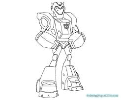 blebee rescue bots coloring pages