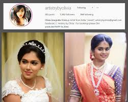 oli col min top 10 bridal makeup artists in chennai you should follow on