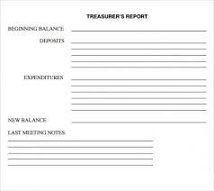 Non Profit Treasurer Report Template Treasurer Report Excel Template U2013 Holaklonec Inside Treasurer