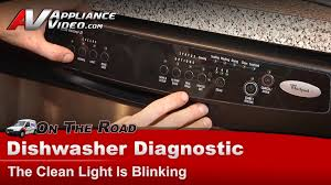 How To Quiet A Dishwasher Whirlpool Maytag Dishwasher Clean Light Blinking Shorted