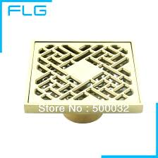 bathroom drain cover decorative floor drain covers luxury brass art carved flower decorative cover bathroom floor