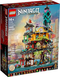 Here's A Better Look at the New LEGO Ninjago City Gardens (71741)