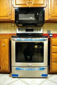 above oven microwave. Above Oven Microwave New Small Over The Range Ovens Stunning Distance Math With Ge Stove Installation I