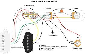 telecaster hs wiring diagrams telecaster hs wiring diagrams 4 way switch and splitting a humbucker wiring telecaster hs wiring diagrams