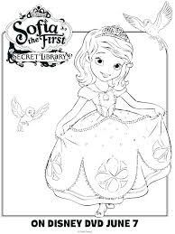 Sofia The First Mermaid Coloring Pages Of Page Princess Dress