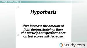 writing research questions purpose examples video lesson  formulating the research hypothesis and null hypothesis