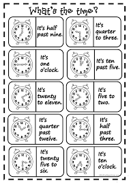 Free Worksheets » Telling Time Worksheets Beginners - Free Math ...