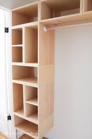 Building closet shelves Closet Storage This Brilliant Diy Custom Closet Organizer Is Not Only Easy To Build But Makes Creating Making It In The Mountains Diy Custom Closet Organizer The Brilliant Box System Making It In