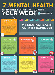 This is a hugely challenging time for us all. 7 Mental Health Activities To Try Out During The Week Believeperform The Uk S Leading Sports Psychology Website