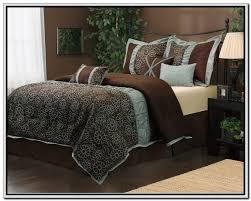 brown turquoise comforter sets classic bedroom patterned brown turquoise bedding sets black iron headboard small black