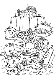 Small Picture gifts coloring pages for kids printable free Rugrats