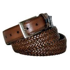 mens buckleless belt outfitter leather braided stretch for big men buckle free mens buckleless belt