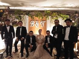 Music Team At Bernard Tresy Wedding Reception By Wijaya Music