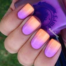 Summer sunset ombre nail art by xxlovelauren. Using Lime Crime ...