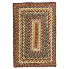 homee decor biscotti cotton braided rug rectangle roost and galley