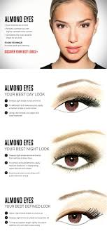 almond shaped eyes and how to line them to make them look diffe for diffe styles occasions