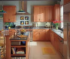 Image Natural Smartworkplacesco Light Cherry Kitchen Cabinets Schrock