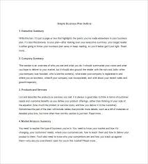 Business Case Analysis Executive Summary Template Market Example ...