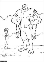 Small Picture Ben 10 Coloring Pages eColoringPagecom Printable Coloring Pages