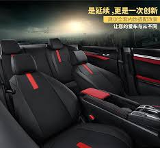 honda civic 2018 leather seat covers