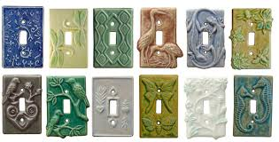 light switch covers. Unique Ceramic Art Single Toggle Light Switch Covers Plates, Botanical, Animal, Birds,