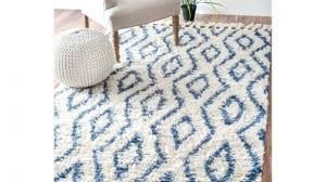 blue rug comfy nuloom hand knotted moroccan diamond trellis 7 6 x 9 for 17