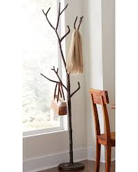 Metal Tree Coat Rack Bronze Branch Coat Tree VivaTerra 53
