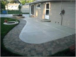 average cost of concrete patio large size of stamped cost per square foot of vs deck