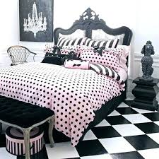 contemporary black white pink bedding black white and pink bedding pink and black bedding sets gallery of attractive polka dot bedding black white and pink