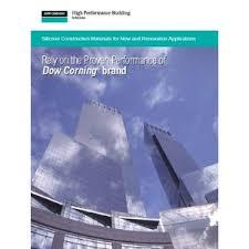 Dow Corning Corporation Catalogs Construction Building
