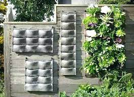 outdoor wall planters outdoor wall planters best of living ideas vertical garden ceramic outdoor wall planters