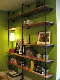 industrial book shelf cool man cave ideas to try this week diy projects