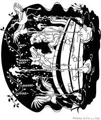 リトルマーメイドのアリエルとエリック王子の切り絵の作り方 コラム