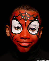 face painting spiderman makeupspiderman
