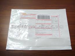 Waybill Pouch Attached Mailing Envelope Plastic Poly Mailer Original