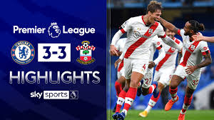 Chelsea 3-3 Southampton highlights and commentary