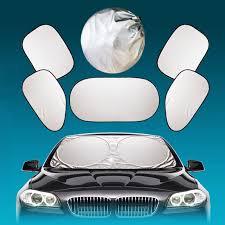 <b>6pcs</b> Sun Shade SUV front/rear/right/left <b>Window Car</b> Visor ...