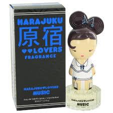 <b>Harajuku Lovers Music</b> by Gwen Stefani Eau De Toilette Spray 1 oz ...