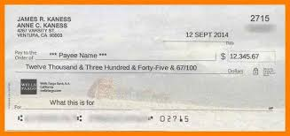 Blank Cheque Template Simple 48 Blank Check Templates For Excel 74840918234 Blank Check