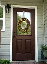 Decorating fiberglass entry doors : Exterior: Beautiful And Durable Of Front Home With Fiberglass Entry ...