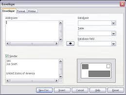 Envelope Format Printing Envelopes Apache Openoffice Wiki