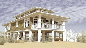 beach house plans on pilings. Two Story House Plans On Pilings Elegant Narrow Lot Beach S