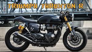 triumph thruxton r cafe racer